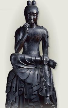 中宮寺の弥勒菩薩ー1-