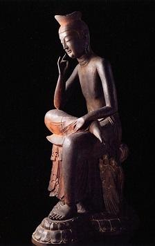 広隆寺の弥勒菩薩 -2