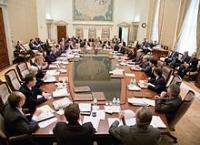 FOMC(米連邦公開市場委員会)会合の様子