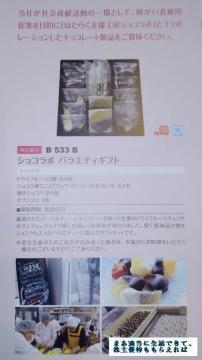日本管財 カタログ ショコラボ 201703