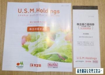 USMH 優待券 201702