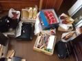 結城紬、大島、ヴィトン財布新品、GUCCIバッグ、皮製バッグ、肥後象嵌小物、和装小物 s3