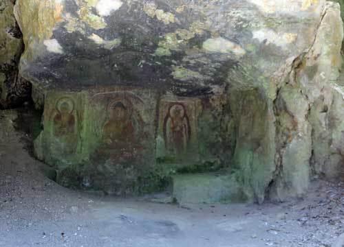 170518地獄谷石窟仏