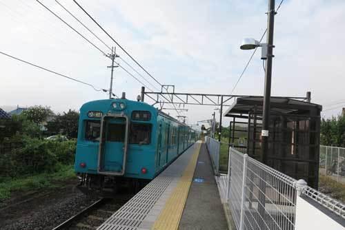 170706北宇智駅電車