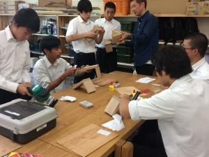 木工製作体験2