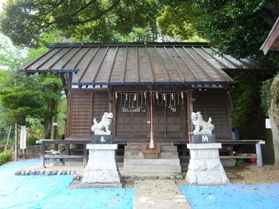 勝沼城_師岡神社