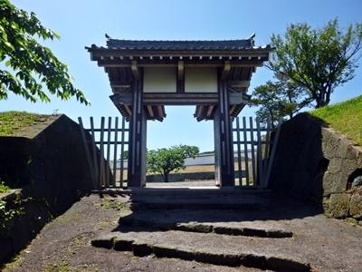 松前城_天神坂門