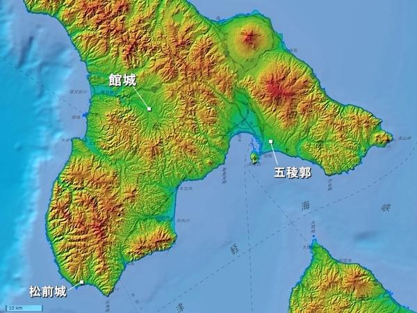 館城広域図