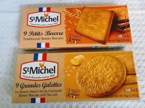 フランス製セントミッシェル プチ ブール2種1