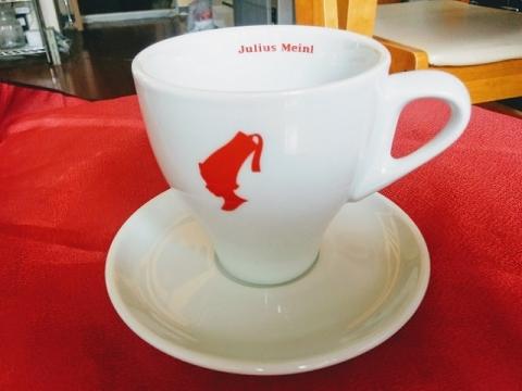 オーストリア製ユリウスマインルのカップ&ソーサー2
