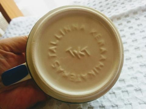 エストニア製タリンのマグカップ3