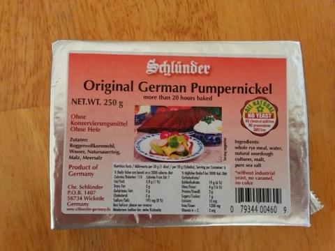 ドイツのライ麦パン-プンパニッケル1