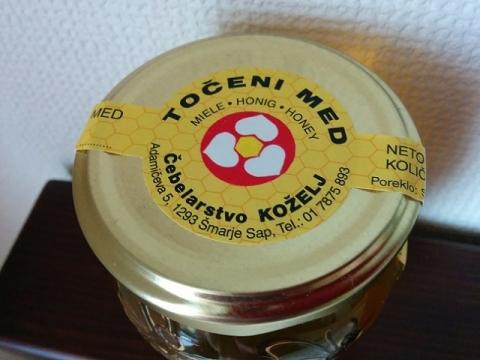 スロヴェニアお土産-アカシアハチミツ2