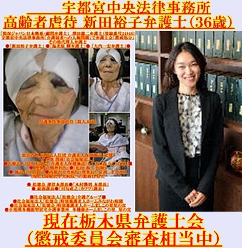 新田裕子弁護士 宇都宮中央法律事務所 懲戒請求2