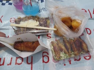 浜松祭り お昼ごはん