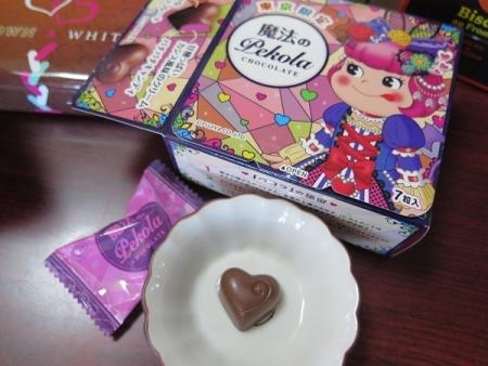 お土産のお菓子