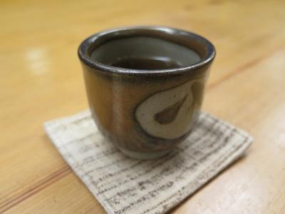 食後のお茶(そば茶?)