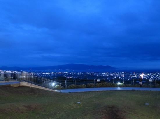 ネオパーサ駿河湾沼津から夜景