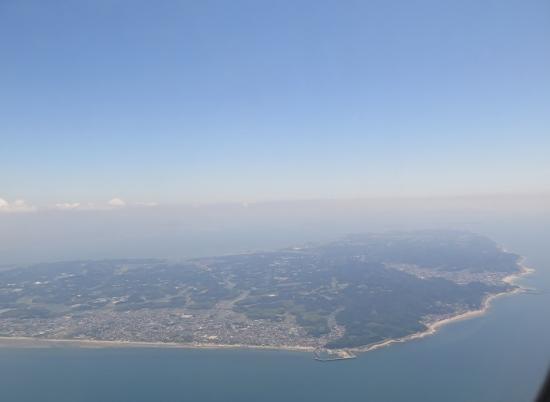 中部国際空港セントレア上空