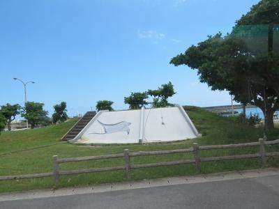 石垣島 登野城の公園