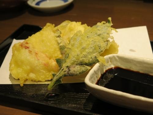 島魚天ぷら