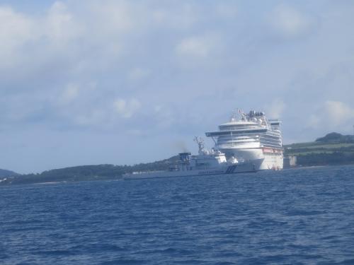 石垣島 大型客船