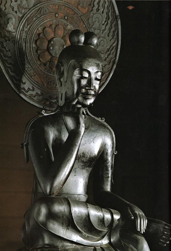 中宮寺・菩薩半跏像