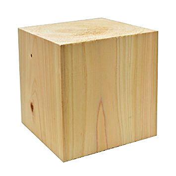 縦木材(ヒノキ材)