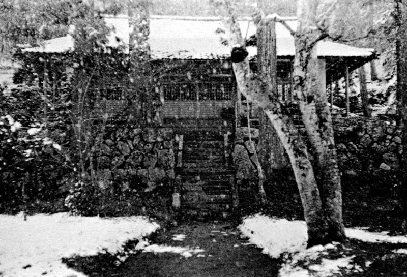 昭和30年代の古保利薬師堂本堂