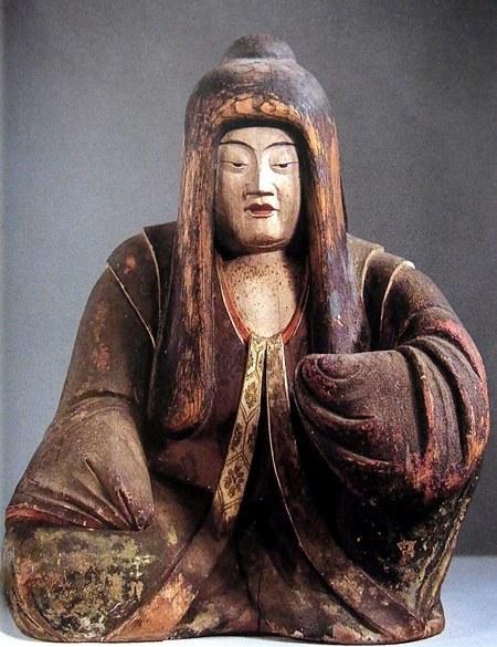 薬師寺(休ヶ岡八幡宮)・三神像