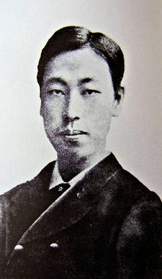 若き日の岡倉天心(明治20年・24歳)