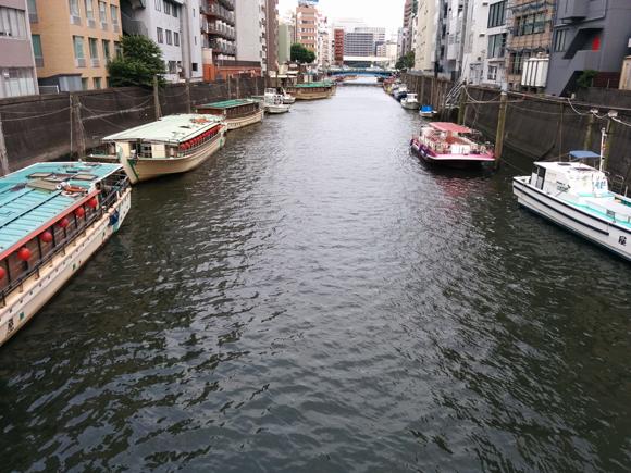 20170610_001 浅草橋屋形船停泊所