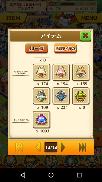 混沌のルーン1090個 (1)
