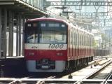 京急1000形1421F京急川崎行き 大師線産業道路駅にて