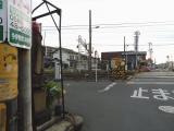 名鉄今伊勢駅 地蔵と灯篭 位置関係
