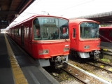 名鉄河和駅3500系3534F&3700系3702F