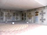 名鉄三好ヶ丘駅 ペデストリアンデッキ下の壁画