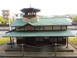 名鉄本宿駅 旧駅舎レプリカ