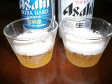 アサヒビール スーパードライ エクストラハード 注ぎ