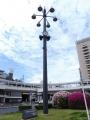 名鉄豊田市駅 贈豊田ライオンズクラブ CN50周年記念 照明時計台