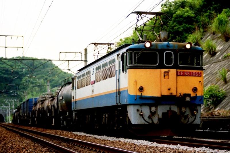 1995年6月18日 三島~函南にて