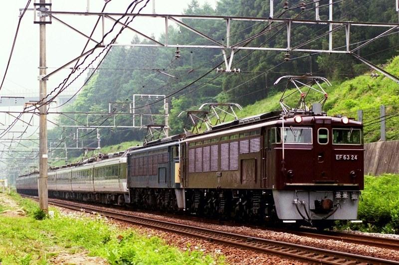 1997年5月13日 熊ノ平(信)~横川にて (2)