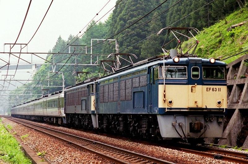 1997年5月13日 熊ノ平(信)~横川にて (3)