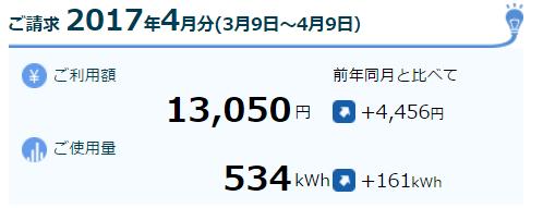 2017-04電気料金