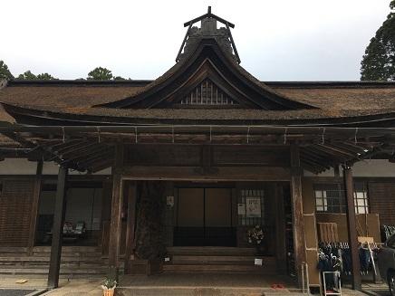 5232017 薬師寺高野山ツアー宿坊S2