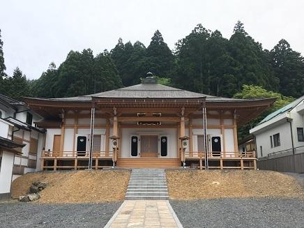 5232017 薬師寺高野山ツアー宿坊新本堂S1