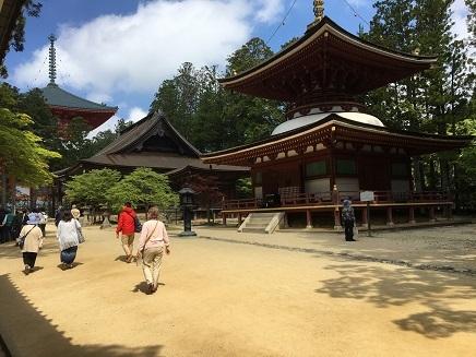 5232017 薬師寺高野山ツアー壇上伽藍S2