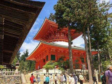 5232017 薬師寺高野山ツアー壇上伽藍S6