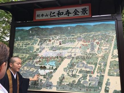 5242017 薬師寺高野山ツアー仁和寺S9