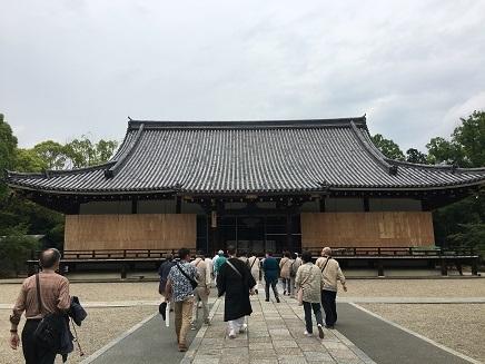 5242017 薬師寺高野山ツアー仁和寺金堂S14